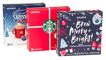PPC Award Keurig Winter Holiday Collection