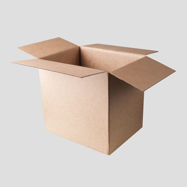 Regular box with open top