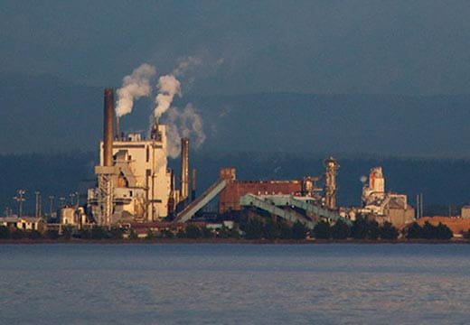 WestRock em Tacoma, em Washington
