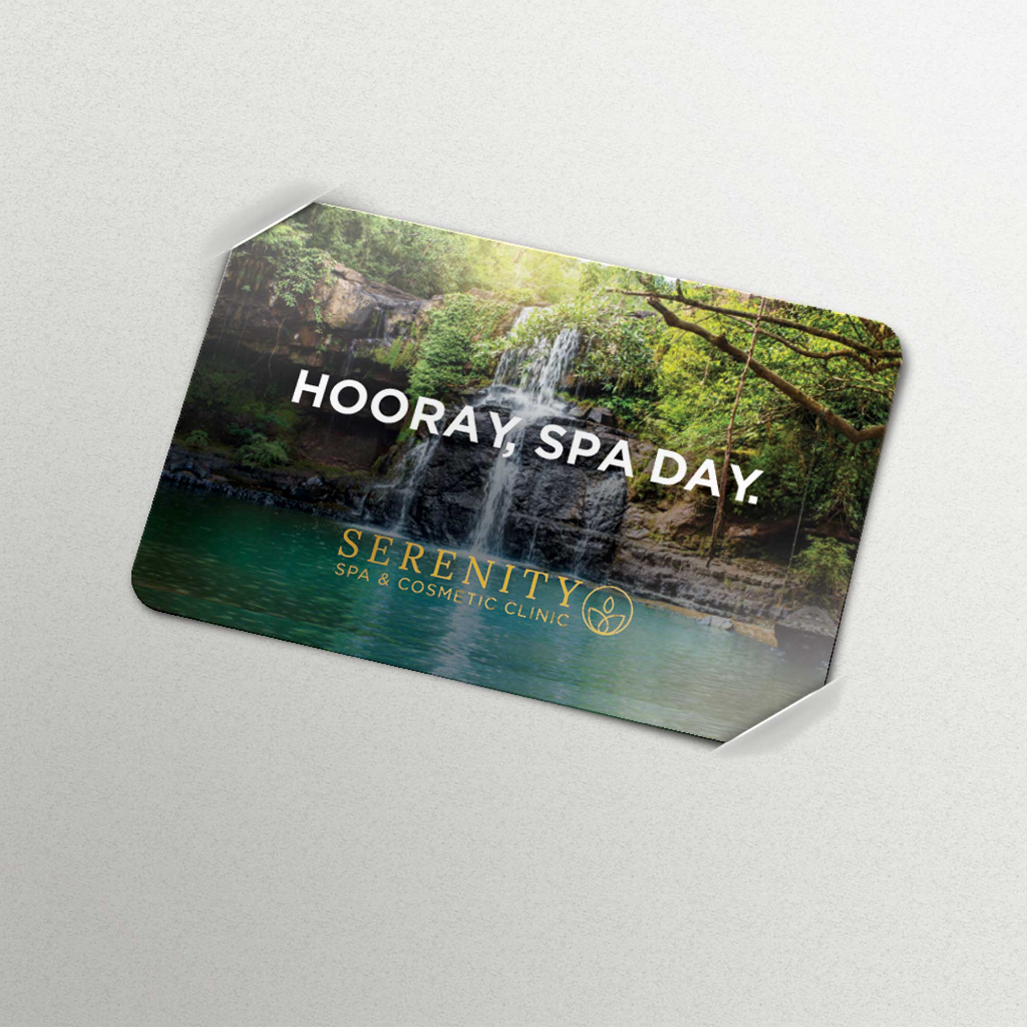 Commercial Print Gift Card
