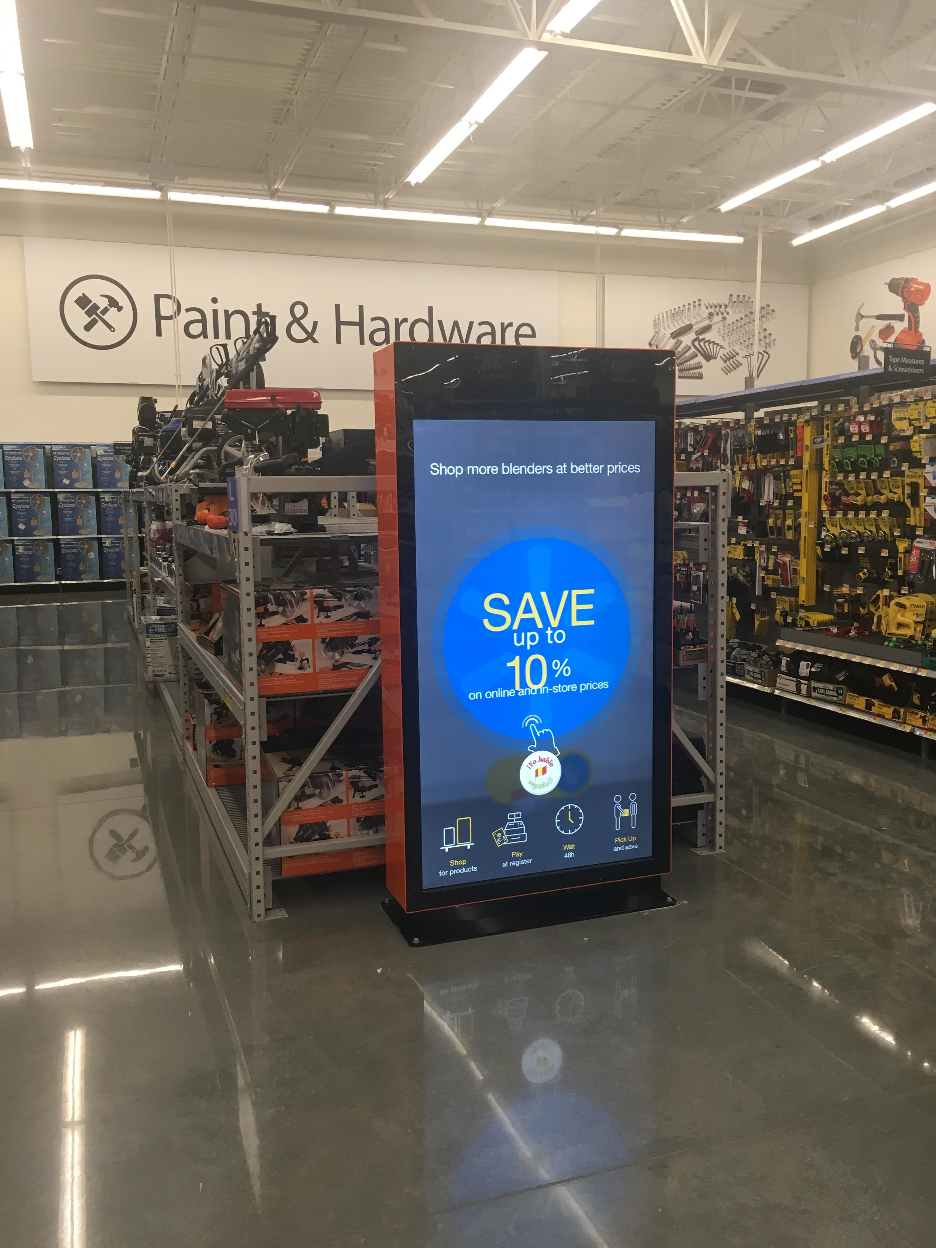 WestRock Advancded Digital Retail Displays at Walmart
