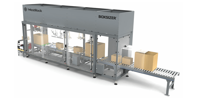 O BoxSizer fornece rendimento de alta velocidade sem trocas, reduz o trabalho e otimiza o peso dimensional