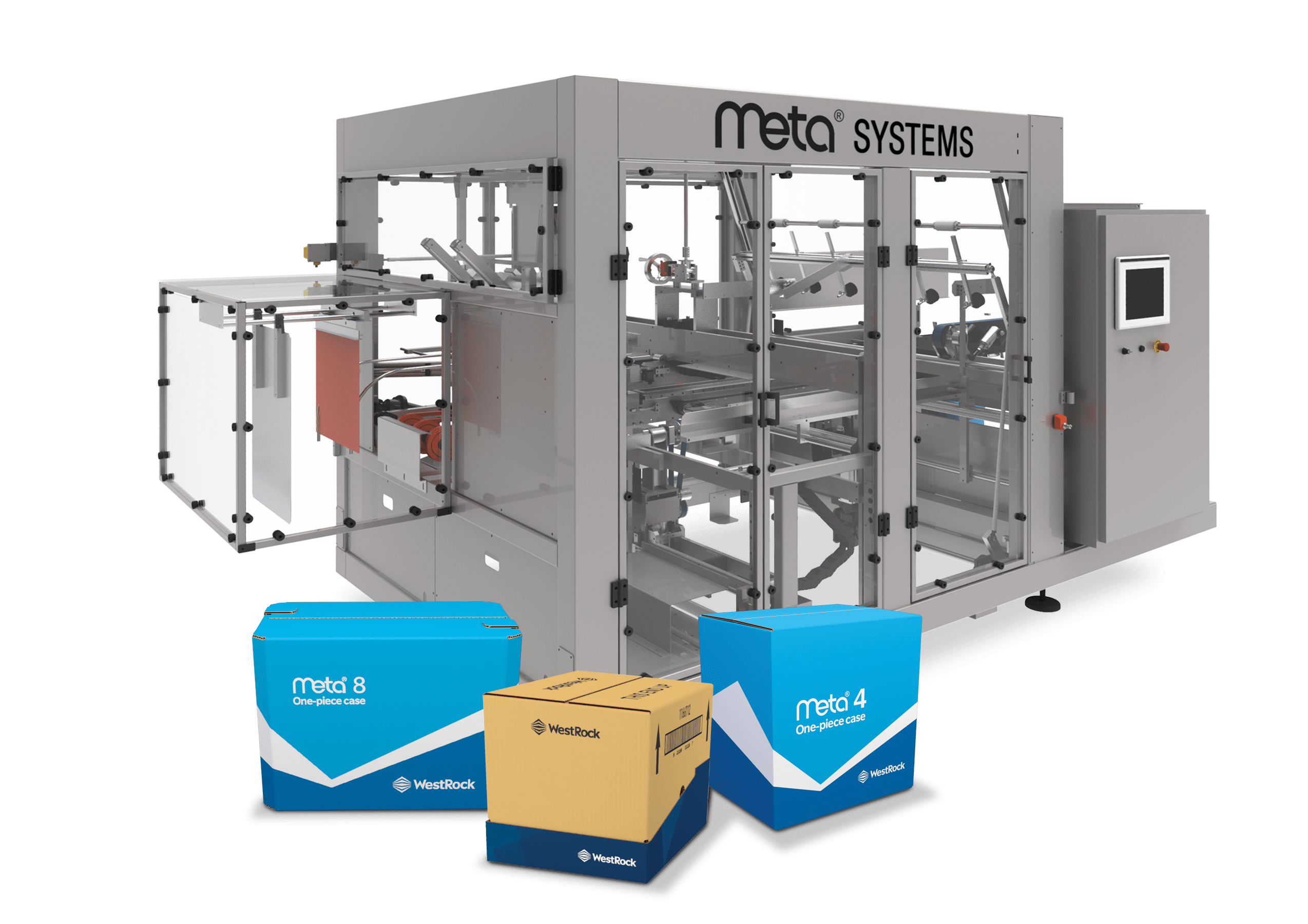 Automated packaging systems for the meta 150 packaging line