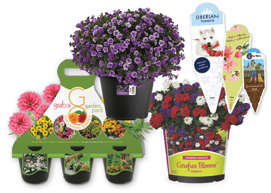 WestRock produces a wide array of paper and label solutions for the horticulture industry