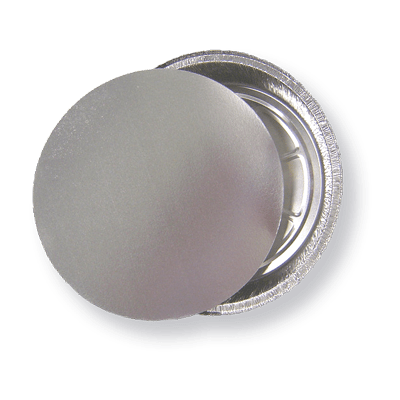 A silver foil laminated lid container.