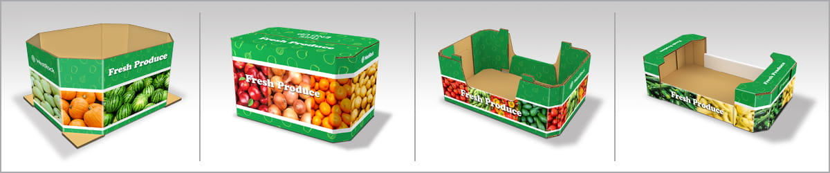 Fruit & Vegetable Corrugated-Containers