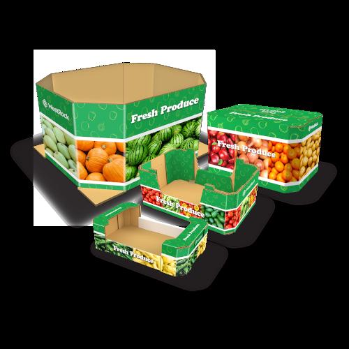 Soluções para embalagens de produtos perecíveis