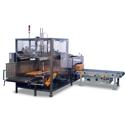 A Wrap-A-Mat® Wraparound Machine
