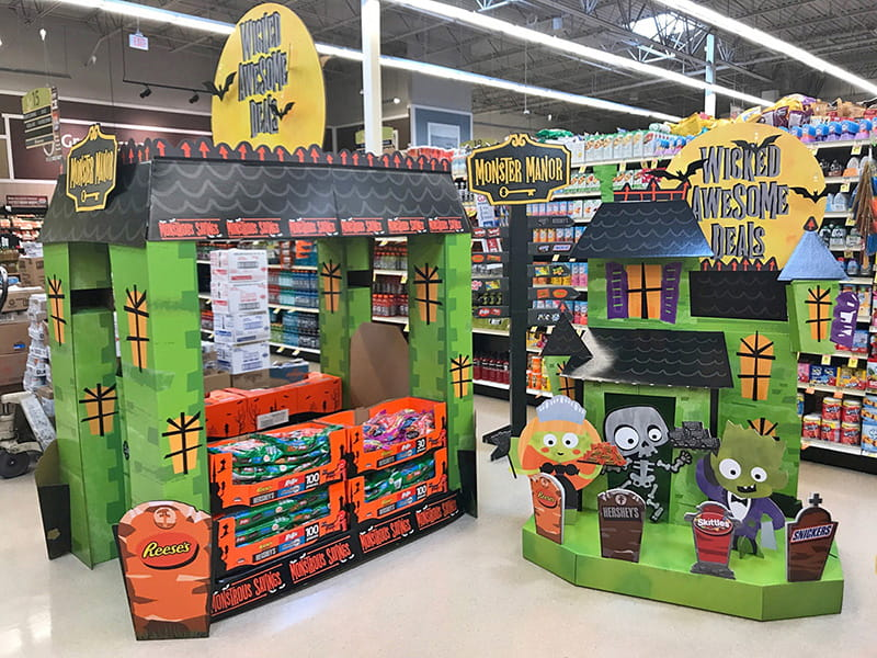 Albertson's Monster Manor Candy Spectacular for Halloween