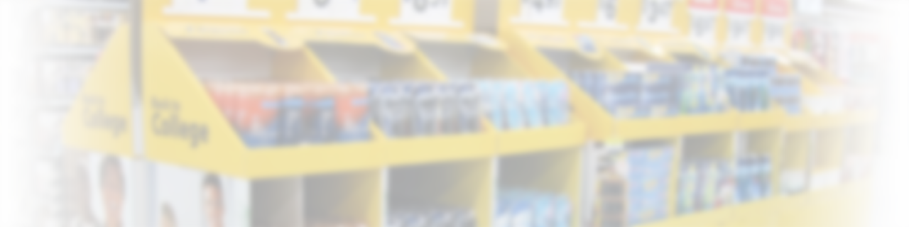 Retail aisle background
