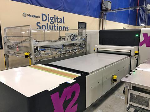 Recursos de produção digital na WestRock
