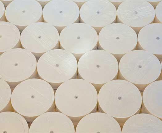 Rolos de papelão de celulose