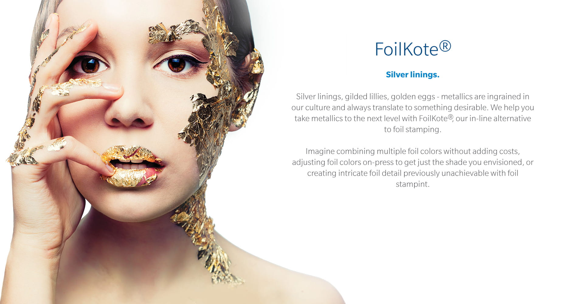 WestRock FoiKote metallic accenting