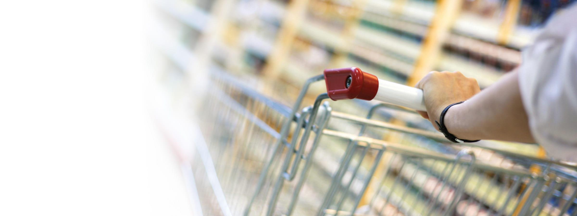 A shopping cart